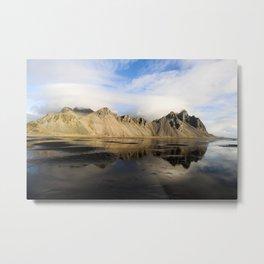 Vestrahorn Mountain Metal Print