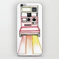 polaroid iPhone & iPod Skins featuring Polaroid by Ilariabp.art
