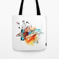 sketch Tote Bags featuring Sketch by Adriana Bermúdez