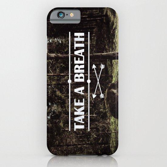 Take a breath iPhone & iPod Case