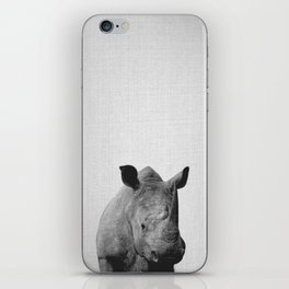 Rhino - Black & White iPhone Skin