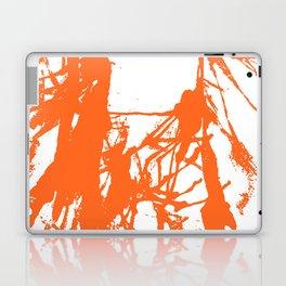 Orange Ink Laptop & iPad Skin