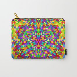 Happy triangle mandala 2 Carry-All Pouch