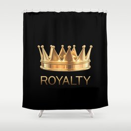 Gold Royalty Shower Curtain