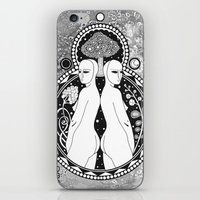 gemini iPhone & iPod Skins featuring Gemini by Jadranka Lacković / ojoMAGico