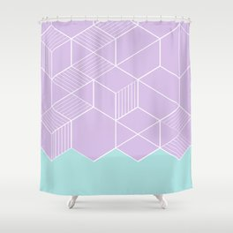 SORBETELILA Shower Curtain