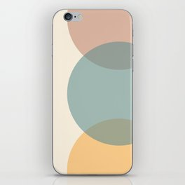 Circle Gradient - Melons iPhone Skin