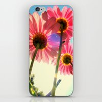 mandie manzano iPhone & iPod Skins featuring dancing in the sun by RichCaspian