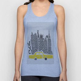 New York City Unisex Tank Top