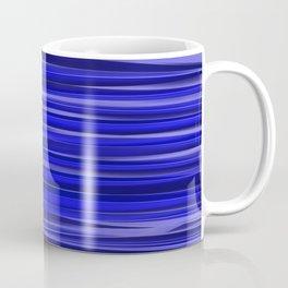 Wavy Band Background Crystal blue banner Coffee Mug