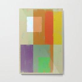 Abstract Geometry No. 13 Metal Print