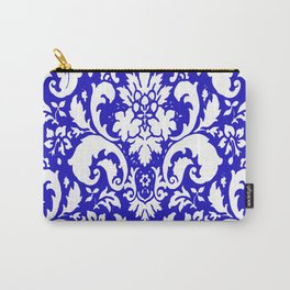 PAISLEY DAMASK BLUE AND WHITE 2019 PATTERN Carry-All Pouch