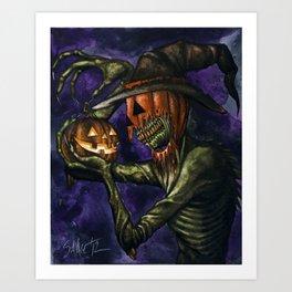 Hobnobbin' with a Goblin Art Print