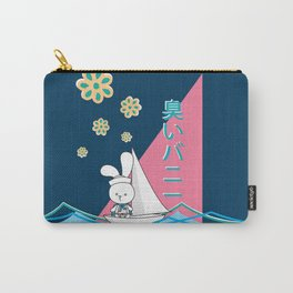 Stinky Bunny Sailing Away! Carry-All Pouch