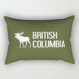 British Columbia Moose Rectangular Pillow
