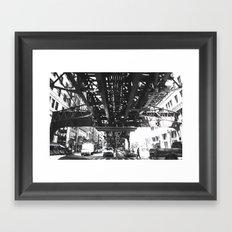 tracked Framed Art Print
