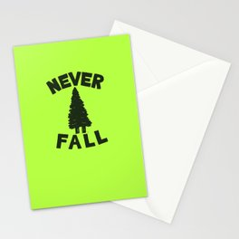 NEVER F\LL Stationery Cards