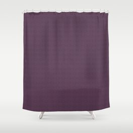 Organic Purple Shower Curtain