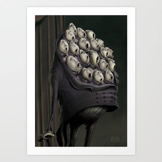 CHORUS MAN Art Print