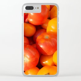 The food in the garden of fruits and vegetables Clear iPhone Case
