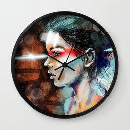 Nova Spike Wall Clock