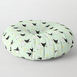 Family Hen Floor Pillow