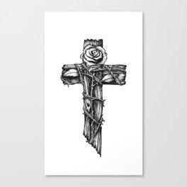 Rose of Grace. Canvas Print
