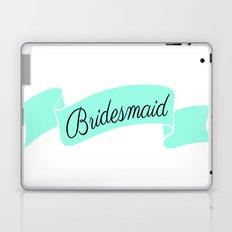 Mint Bridesmaid Laptop & iPad Skin