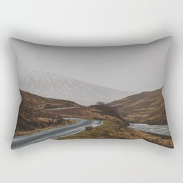 Glen Etive Road Rectangular Pillow