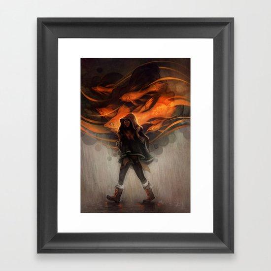 Seastorm Framed Art Print