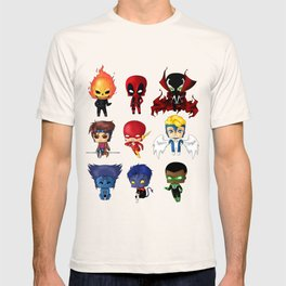 Chibi Heroes Set 2 T-shirt