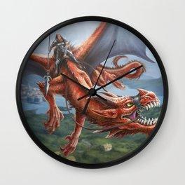 Dragon Rider Wall Clock