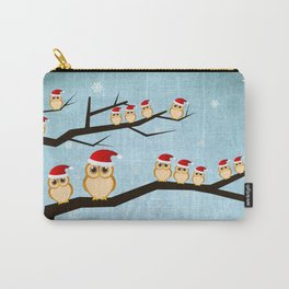 christmas owls-ıı Carry-All Pouch