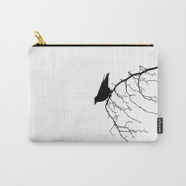 Perching Crow Carry-All Pouch