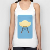 eames Tank Tops featuring Eames RAR by Life is good !