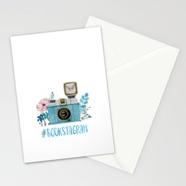 Blue Bookstagram Stationery Cards