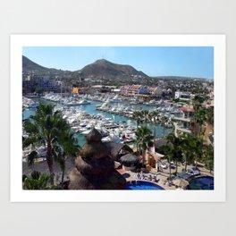 Cabos San Lucas Art Print