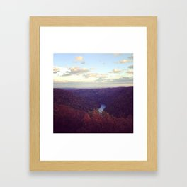 Coopers Rock Framed Art Print