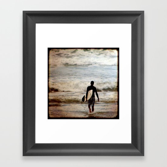 Heading Out Framed Art Print