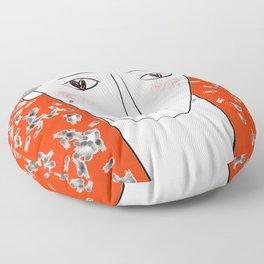 Adonis in wonderland Floor Pillow
