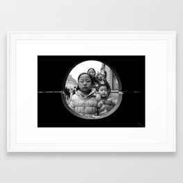 Family (From The Bin Shots Collection) Framed Art Print