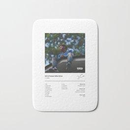 J. Cole - 2014 Forest Hills Drive - Album Art Hip Hop  Bath Mat