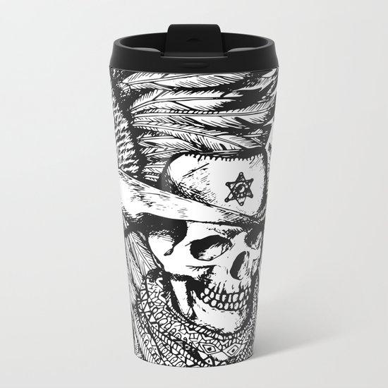 Wild West Metal Travel Mug
