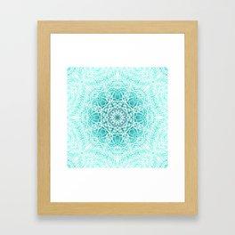 Mehndi Ethnic Style G344 Framed Art Print