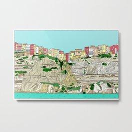 Bonifaccio in Corsica Metal Print