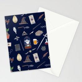 Harry Pattern Night Stationery Cards