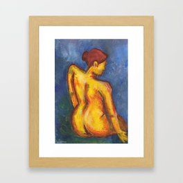 Liza Framed Art Print