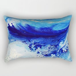Arctic Current Rectangular Pillow