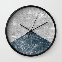 Concrete Silk Wall Clock