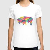 buffalo T-shirts featuring Buffalo by Jake Martin